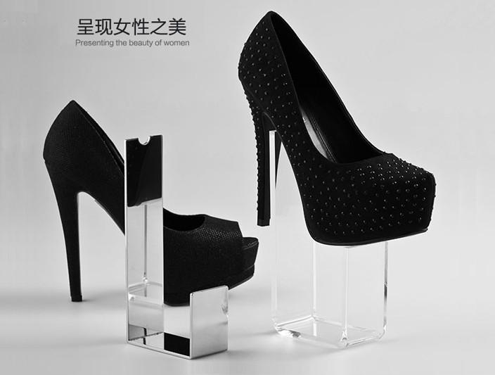 高品质亚克力鞋架