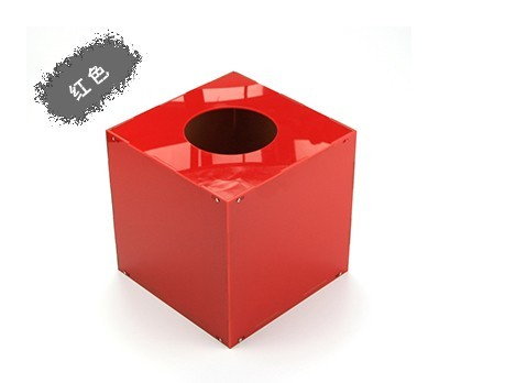 红色亚克力抽奖箱