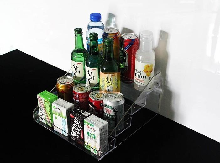 亚克力饮料展示架
