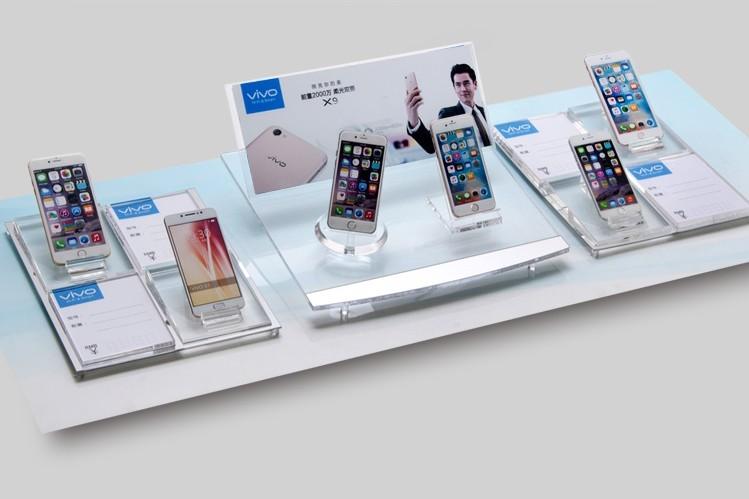 亚克力手机组合展示架