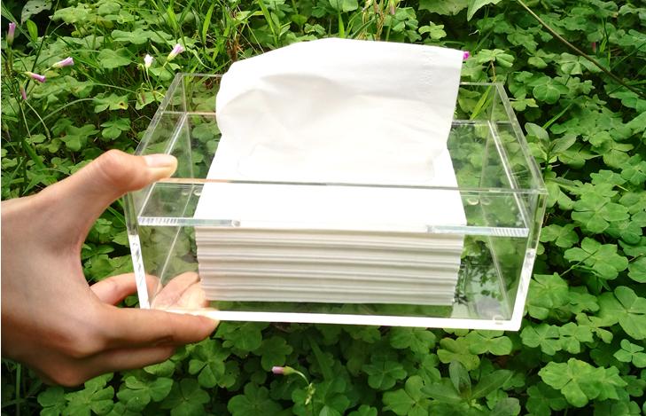 有机玻璃纸巾盒