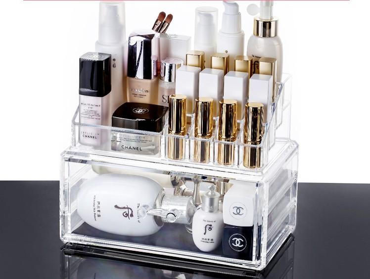 亚克力化妆品收纳盒