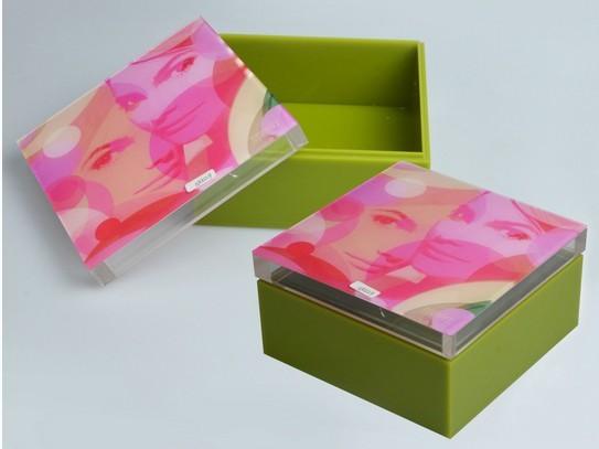 亚克力化妆品包装盒
