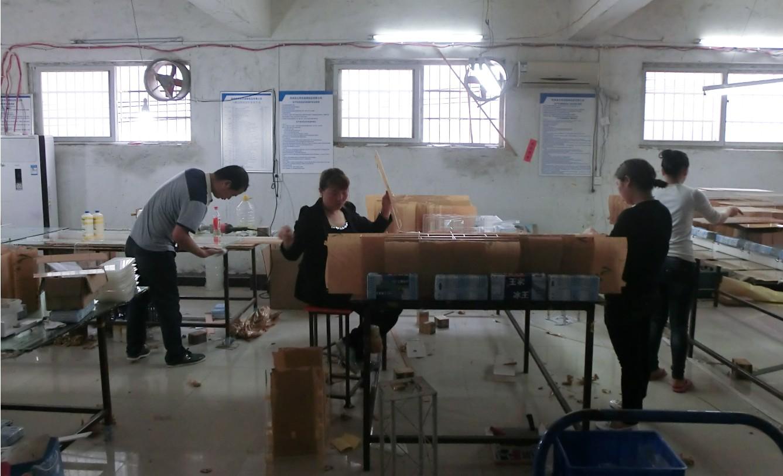 亚克力展示架加工工艺——粘接工艺流程
